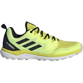 adidas TERREX Agravic Trail Running Shoes Men, acid yellow/core black/hi-res yellow